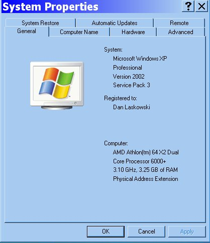 3.1 desktop dual core specifications